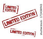 limited edition vector stamp | Shutterstock .eps vector #172438943