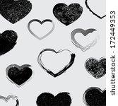 abstract geometrical design  | Shutterstock .eps vector #172449353