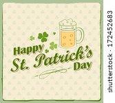 illustration of saint patrick's ... | Shutterstock .eps vector #172452683