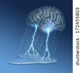 brain storm   many uses  for...   Shutterstock . vector #172455803
