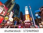 new york city  ny   oct 11 ... | Shutterstock . vector #172469063