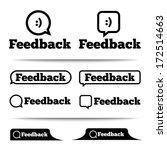 feedback labels. feedback tags... | Shutterstock .eps vector #172514663