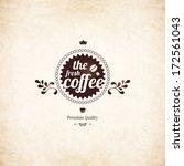 menu for restaurant  cafe  bar  ... | Shutterstock .eps vector #172561043