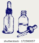 open medicine bottle with a...   Shutterstock .eps vector #172583057