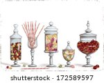 Set Of Chocolate Candies In...