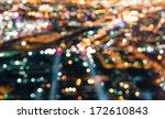 las vegas downtown   defocused...   Shutterstock . vector #172610843