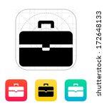 suitcase icon. vector...