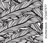 elegant seamless pattern with... | Shutterstock . vector #172687577