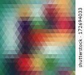background geometric pattern.... | Shutterstock . vector #172694033