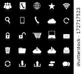 communication icons with... | Shutterstock .eps vector #172717523