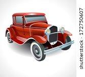 vector oldtimer car   Shutterstock .eps vector #172750607