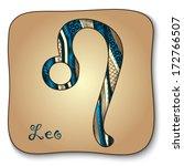 zodiac sign   leo. ...