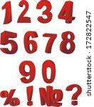 stickers stock vector | Shutterstock .eps vector #172822547