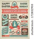 greetings newspaper dedicated... | Shutterstock .eps vector #172832903