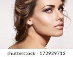 glamour portrait of beautiful... | Shutterstock . vector #172929713