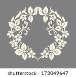 vector ornamental decorative... | Shutterstock .eps vector #173049647