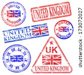 united kingdom different shaped ...   Shutterstock .eps vector #173072027