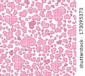 abstract background of hearts....   Shutterstock . vector #173095373