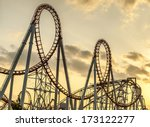 Roller Coaster's Loops At...