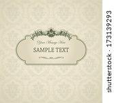 vintage background  antique... | Shutterstock .eps vector #173139293