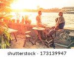 couple of best friends...   Shutterstock . vector #173139947