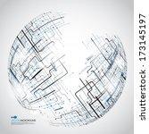 space vector light | Shutterstock .eps vector #173145197