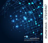 space vector light | Shutterstock .eps vector #173145467