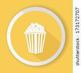 popcorn symbol vector | Shutterstock .eps vector #173172707
