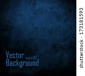 dark blue background. vector... | Shutterstock .eps vector #173181593