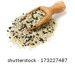 Black And White Sesame Seeds...