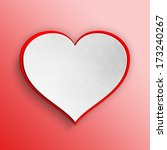 valentines day card background  ... | Shutterstock . vector #173240267