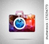 abstract creative concept... | Shutterstock .eps vector #173256773