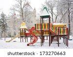 Empty Children Playground In...