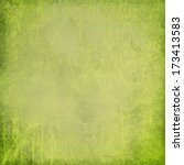 green distressed textured... | Shutterstock . vector #173413583