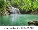 Waterfall In Erawan National...