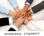 business  succcess and winning...   Shutterstock . vector #173649077