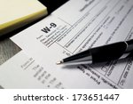 tax forms | Shutterstock . vector #173651447