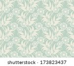 vintage seamless wallpaper with ...