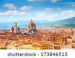 Panorama Of Florence And Saint...