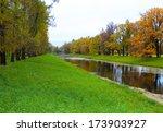catherine s park in tsarskoe... | Shutterstock . vector #173903927