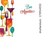 pattern background.  | Shutterstock .eps vector #173914553
