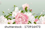 luxurious pink and white... | Shutterstock .eps vector #173916473