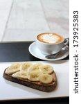 coffee and breakfast   Shutterstock . vector #173925383