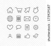 set icons grey. communication....