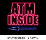 atm  sign neutral background | Shutterstock . vector #173947