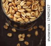 Salted Peanuts In Focus  Nuts...