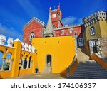 sintra  portugal   november 9 ... | Shutterstock . vector #174106337