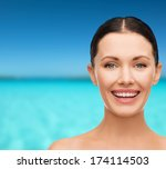health  spa and beauty concept  ...   Shutterstock . vector #174114503