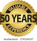 Valuable 50 Years Of Experienc...
