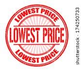 lowest price grunge rubber... | Shutterstock .eps vector #174250733
